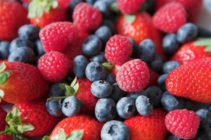 Fruits rouges antioxydants